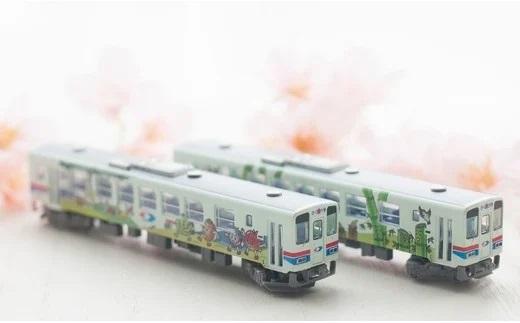鉄道模型 若桜鉄道 WT3000形2両セット イメージ
