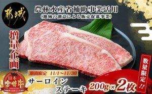 宮崎牛サーロインステーキ 200g×2枚