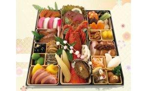 料理旅館呑龍のおせち料理(一尺一段重)