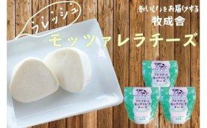 【第8位】<牧成舎>牛乳屋がていねいに作ったフレッシュモッツァレラチーズ3個
