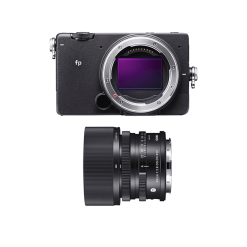 SIGMA fp + 45mm F2.8 DG DN   Contemporary