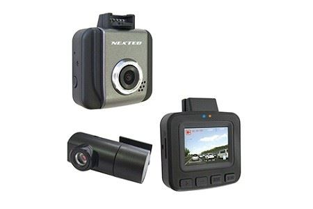 ドライブレコーダー 2カメラ 200万画素 NX-DRW22W イメージ