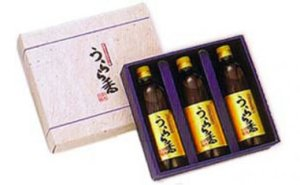 手搾りすだちポン酢しょうゆ「うらら香」3本セット 寄付金額13,000円
