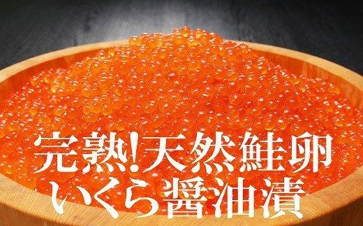 【いくら醤油漬(ロシア産)440g!(110g×4P小分け) イメージ