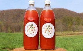 【1リットル2本】関野農場の有機トマトのトマトジュース