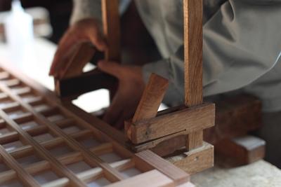 木製 クランプ