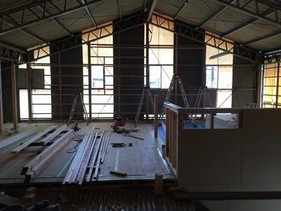 工場 改装 ギャラリー 建具