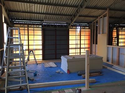 家具 建具 展示室