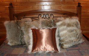 Exquisite Coyote Fur Pillows
