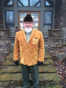 Moose Hide Jacket & Otter Fur Hat