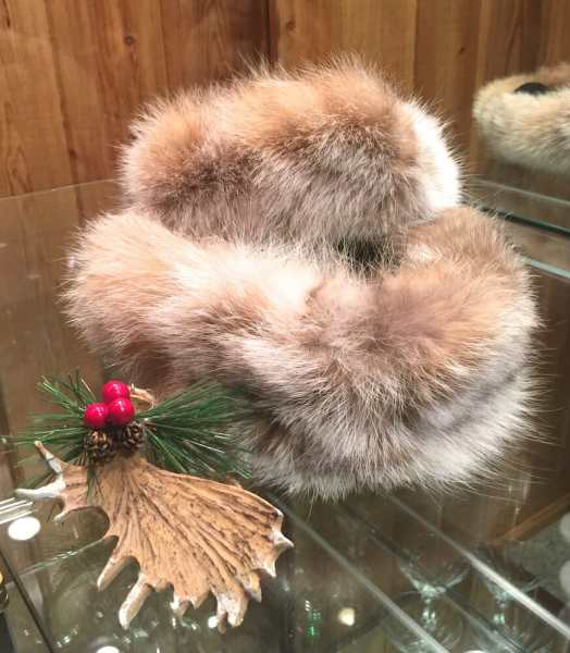 Natural Lynx Fur Headbands