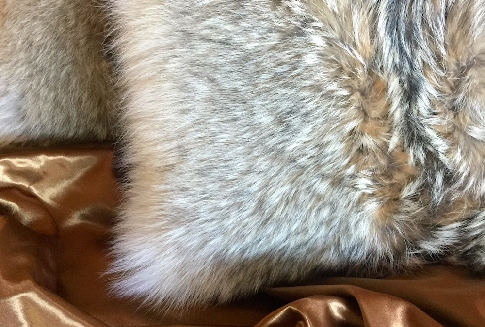 Coyote Fur Pillow – The Perfect Wedding Gift