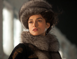 Keira Knightley in Doctor Zhivago
