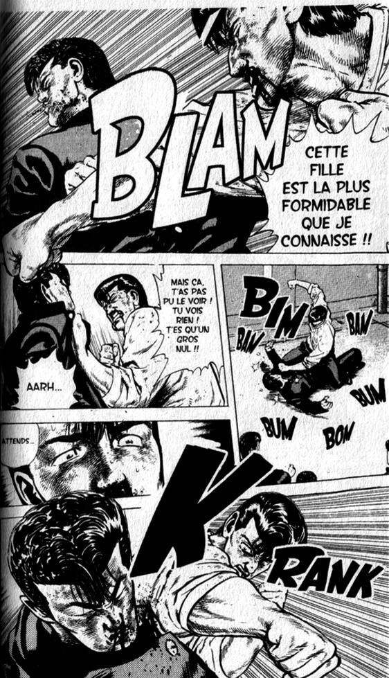 Racaille Blues Manga Extraits 04