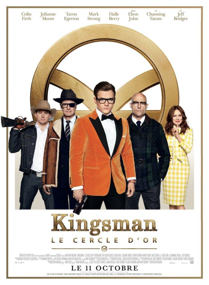 affiche de Kingsman : le cercle d'or