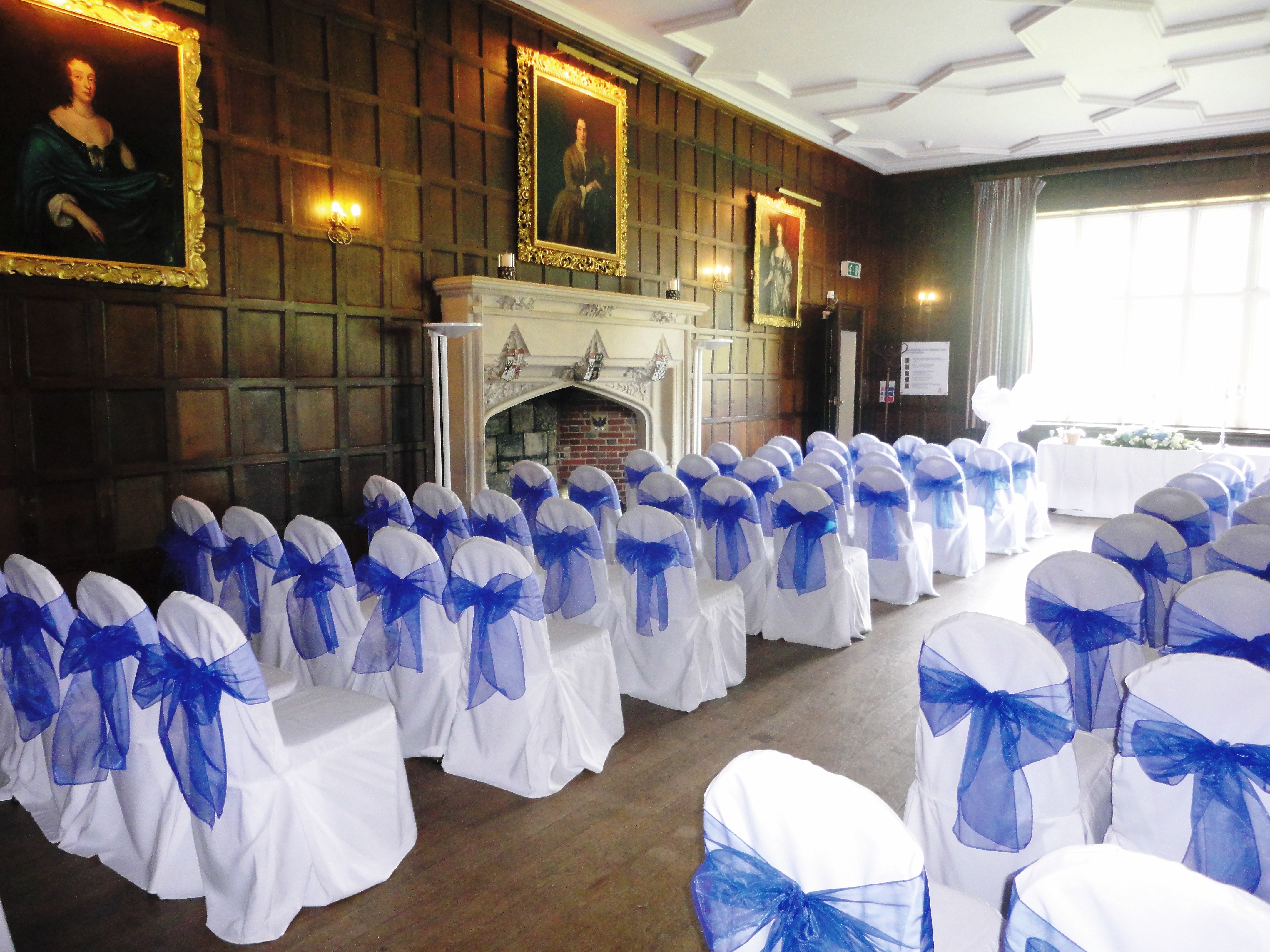 blue chair covers for weddings white tufted turquoise and pink table reception ideas fuschiadesigns