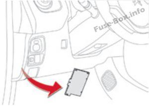 Fuse Box Diagram > Citroën C1 (2014-2019-..)