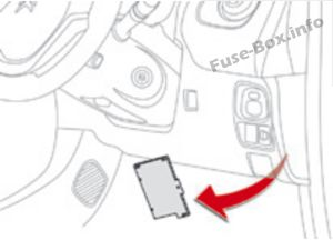 Fuse Box Diagram > Citroën C1 (2014-2019-..)