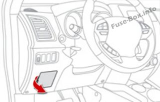 Fuse Box Diagram > Citroën C4 Aircross (2012-2017)