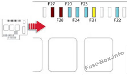 Fuse Box Diagram > Citroën DS5 (2011-2018)
