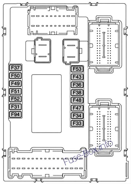 Fuse Box Diagram > Fiat 500X (2014-2019...)