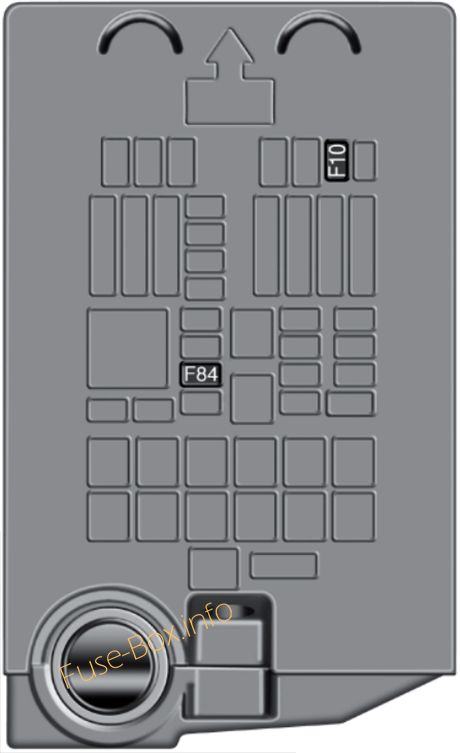 Fuse Box Diagram Fiat 500X (2014-2019...)