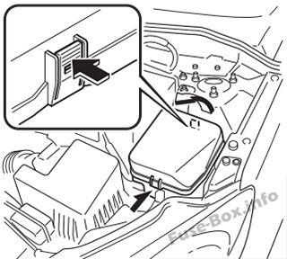 Fuse Box Diagram Mazda 2 (DJ; 2015-2018..)