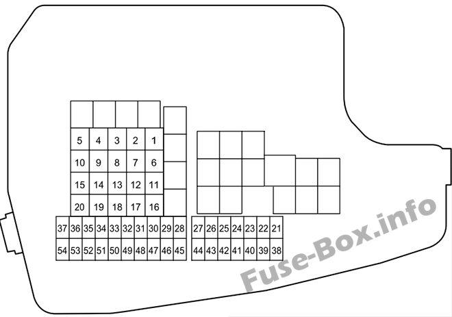 03 mazda 6 fuse box