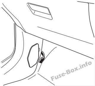 Fuse Box Diagram > Mazda CX-3 (2015-2019..)