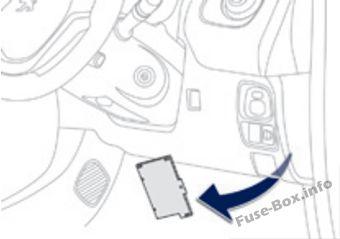 Fuse Box Diagram Peugeot 108 (2014-2019-..)