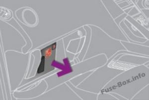 Fuse Box Diagram Peugeot 3008 (2009-2016)