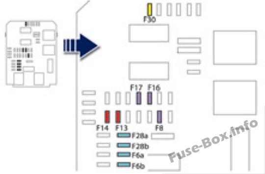 f30 fuse box