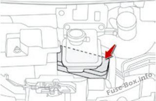 Fuse Box Diagram Peugeot iOn (2010-2018)