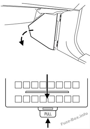 Fuse Box Diagram Ford Expedition (U222; 2003-2006)