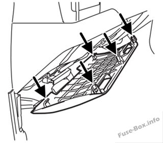 Fuse Box Diagram > Ford F-250/F-350/F-450/F-550 (2005-2007)