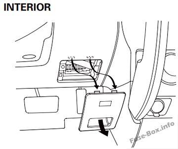 Honda CR-V (2002-2006) < Fuse Box diagram