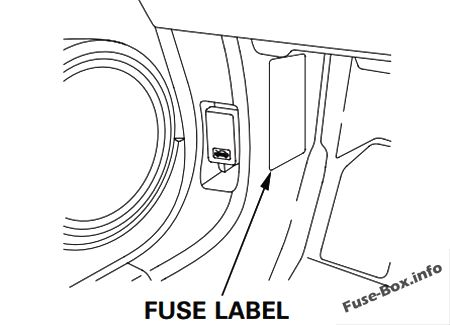 Fuse Box Diagram Honda Fit (GE; 2009-2014)
