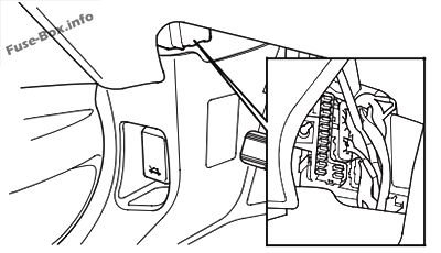 Fuse Box Diagram > Honda Pilot (2003-2008)