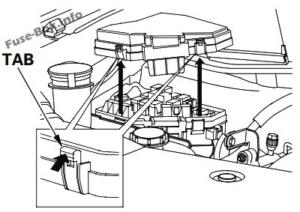 Fuse Box Diagram Honda Pilot (2009-2015)