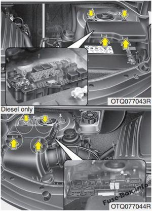 Fuse Box Diagram > Hyundai H1  Grand Starex (20082018)