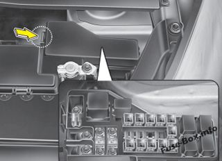 hyundai i10 ecu wiring diagram for light dimmer switch 2008 2013 fuse box not all panel descriptions in this manual may be applicable to your vehicle