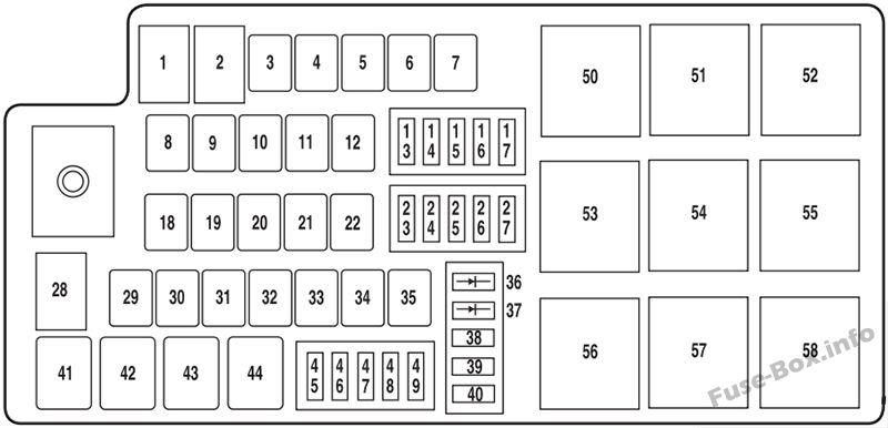2011 lincoln mkz fuse box diagram