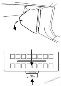 Fuse Box Diagram Lincoln Navigator (2003-2006)
