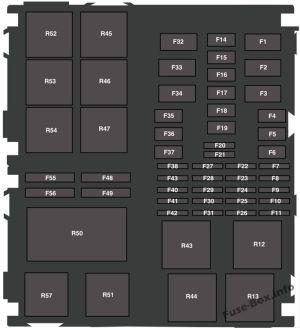 Fuse Box Diagram > Ford Fiesta (20142019)