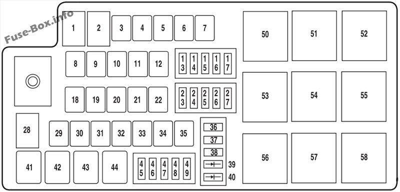 2014 ford flex fuse box diagram
