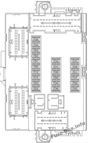 Fuse Box Diagram > Fiat Ducato (20152018)
