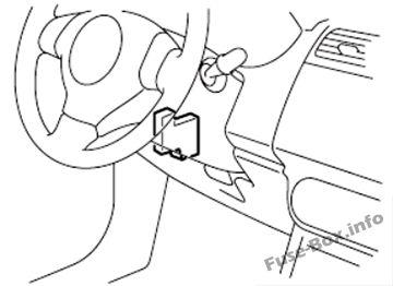 Fuse Box Diagram > Fiat Sedici (2006-2014)
