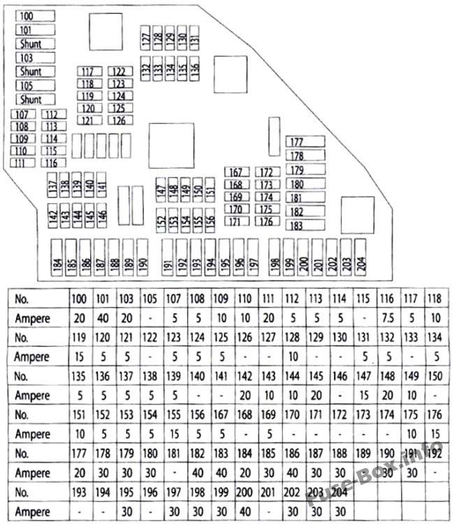 volkswagen fuse box information