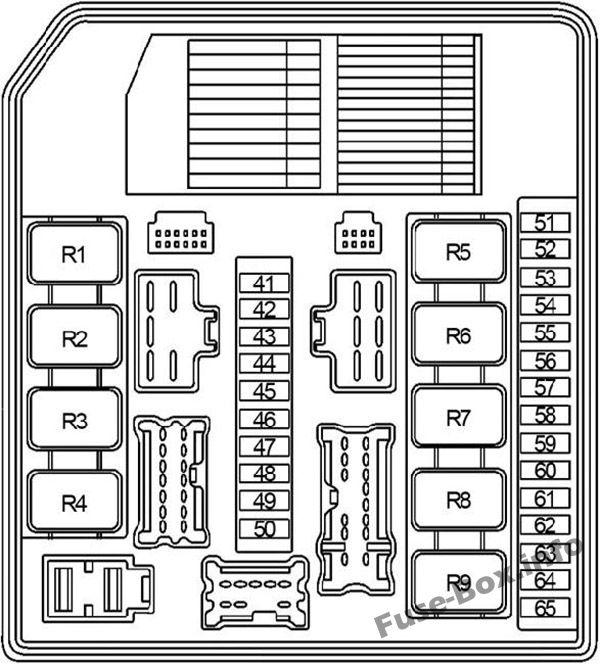 nissan versa fuse box diagram 2007