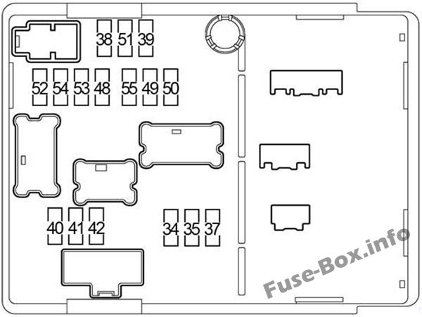 Fuse Box Diagram > Nissan Versa Note / Note (2013-2018)